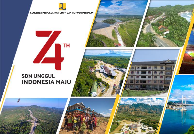 Peringatan HUT Ke-74 Kemerdekaan Republik lndonesia Tahun 2019
