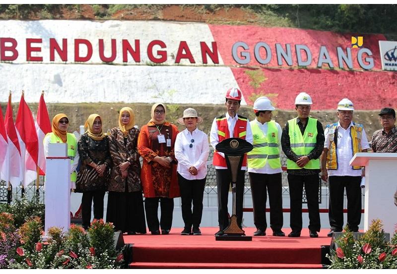 Bendungan Gondang Siap Airi Irigasi 4.680 Hektare di Karanganyar dan Sragen