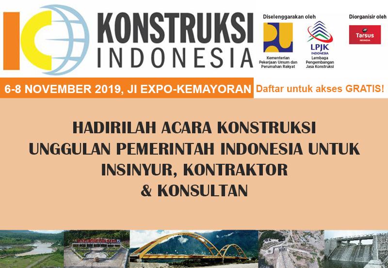 Konstruksi Indonesia 2019