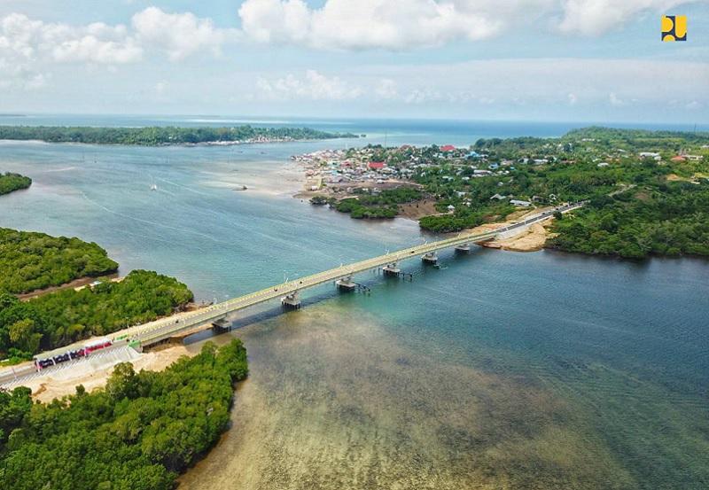 Jembatan Leta Oar Ralan di Tanimbar Diresmikan, Harapan Menuju Kesejahteraan Terbuka