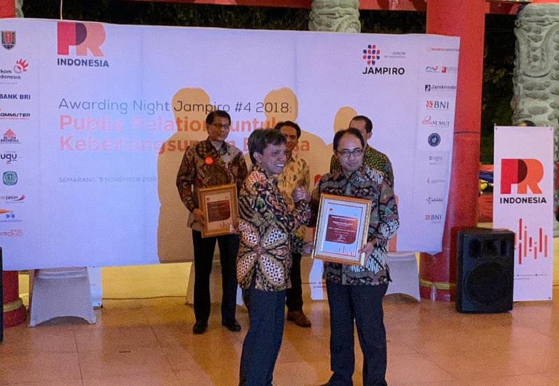 Kementerian PUPR Peroleh Dua Penghargaan dari PR INDONESIA