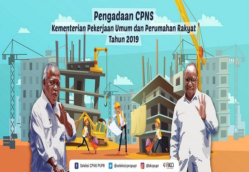 Pengadaan CPNS Kementerian PUPR Tahun 2019