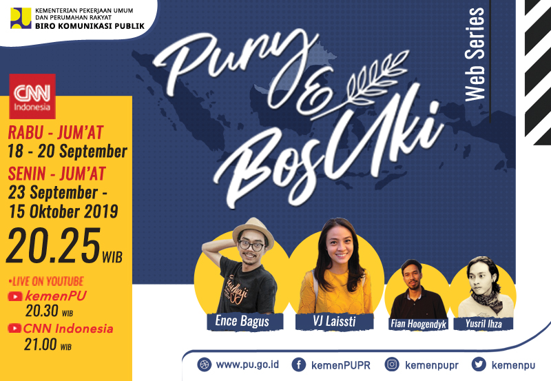 Web Series Kementerian PUPR : Pury dan BosUki