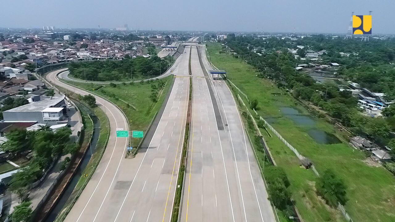 Seluruh akses Tol Cengkareng-Kunciran sudah resmi beroperasi